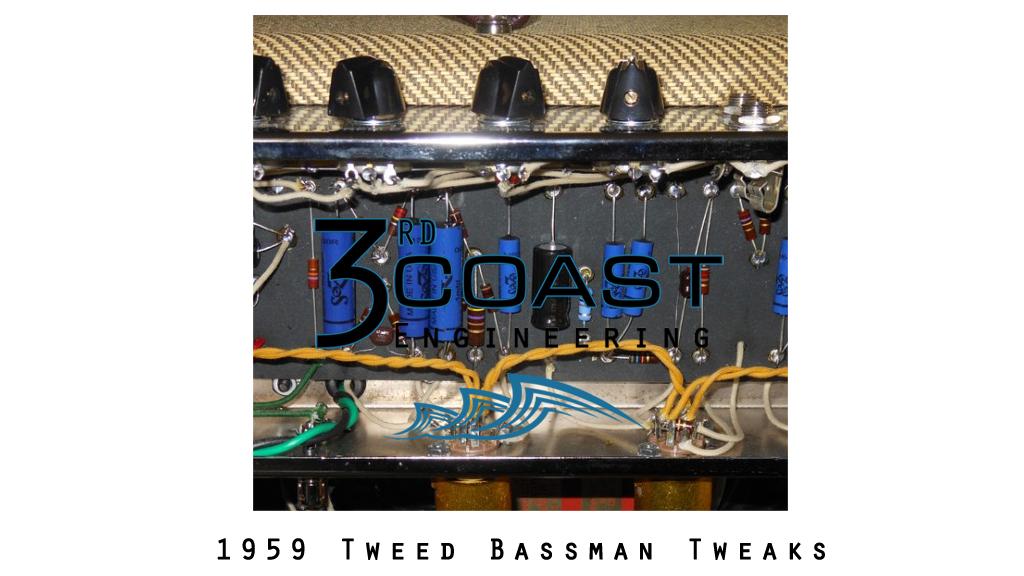 Bassman Amp Tweaks