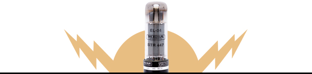 EL34 Power Tubes